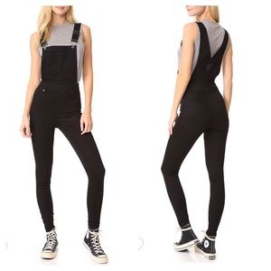 Cheap Monday Skinny 'Dungaree Spray' Overalls